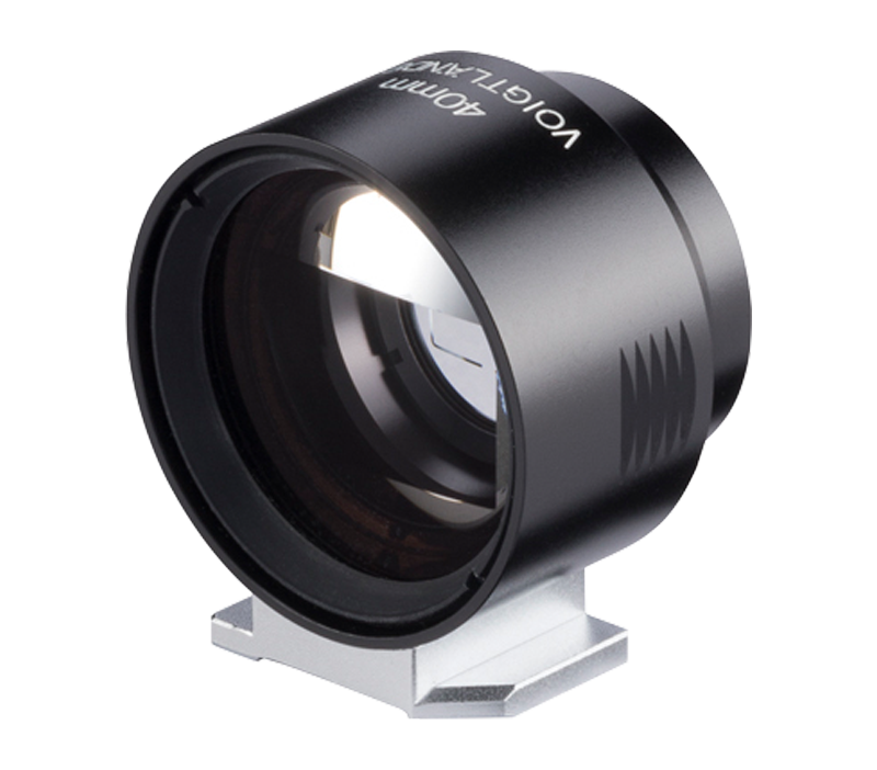 Voigtlander Optical Finder for 40mm lens (metal and glass, black )
