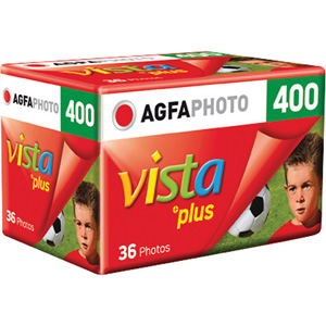 Agfa Vista plus 400 35mm Color Negative Film (36 Exposures)