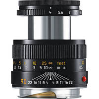 Leica 90 mm/ f4 Macro-Elmar set w/Macro Adapter & Angle VF BlackLeica Macro-Elmar-M 90mm f/4 Lens