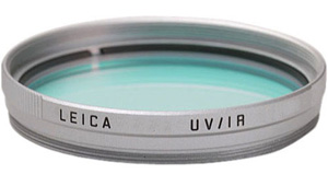 Leica e39 UV/IR Infrared Digital Filter -- Silver Chrome