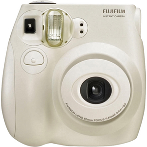 Fuji Instax Mini 7S Instant Film Camera (White)