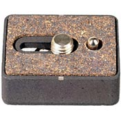 "Gitzo G-1173-38B Quick Release Plate with 3/8"" Screw for G1172, G1276/M, G1387B & G1285B Heads"