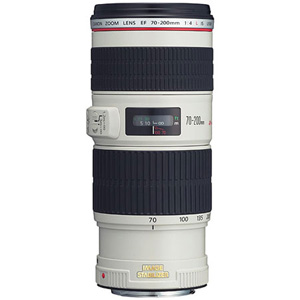 Canon 70-200mm f/4L IS USM Autofocus Lens