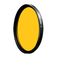 B+W 46mm 023 Dark Yellow (9) Glass Filter