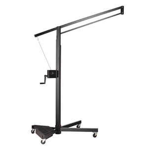 Broncolor Flamingo Stand - for Hazy, Strip, & Mini-Cumi - Includes: Pack Platform & Locking Wheels - 10'