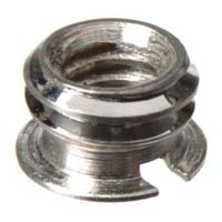 "Gitzo G-1141 Reducer Bushing 7.5mm 3/8""-16 to 1/4""-20"