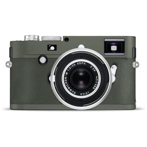 Leica M-P (Type 240) Digital Rangefinder Camera Safari Set with Summicron-M 35mm f/2 ASPH. Lens