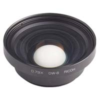 Ricoh DW-6 19mm Wide Conversion Lens for the GX100 Digital Camera, Requires HA-2 Adapter for GX100