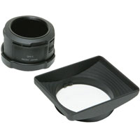 Ricoh GH-1 Hood for GR / GR II Digital Camera Standard Lens, with Adapter for Attaching Wide Conversion Lenses to GR & and GR II