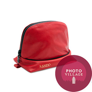 Black Label Bag Kando Camera Case -- Red