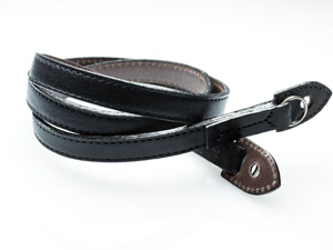 Black Label Bag M3 Style Leather Strap -- Dark Brown Interior