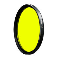 B+W 46mm 022 Medium Yellow Glass Filter