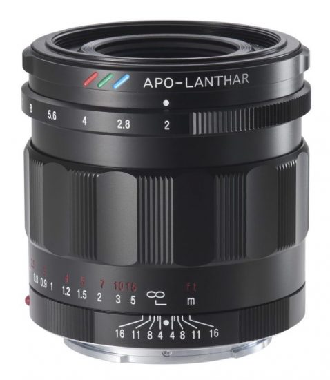 New! Voigtlander 50mm f2.0 APO Lanthar for Sony E
