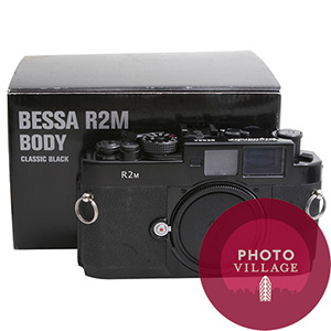 Voigtlander Bessa R2M Black 35mm Film Rangefinder Camera -- USED