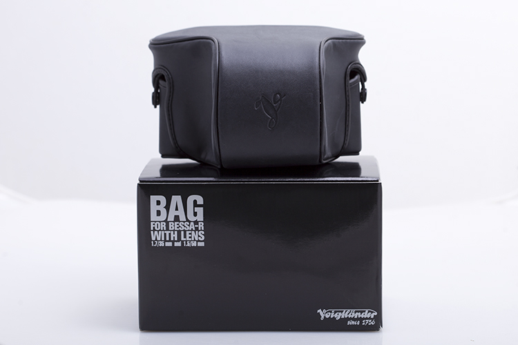 Voigtlander Camera Case for Any Body, a Short Lens, and a Viewfinder -- black
