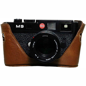 Black Label Bag Half-case M9 M8  Monochrom -- Dark Brown