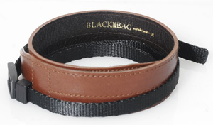 Black Label Bag Wide Strap -- Brown