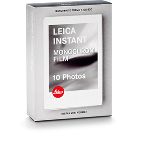 Leica Sofort Monochrom Instant Film Pack (10 Exposures)