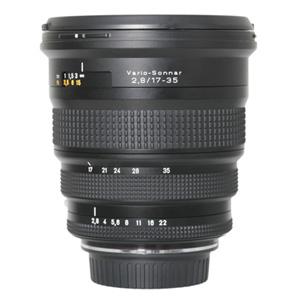 Contax 17-35mm f/2.8 Lens Converted to Canon EOS