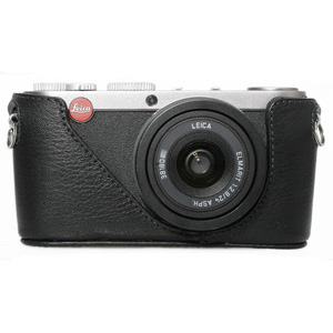 Black Label Bag Half-case for Leica X1  -- Black