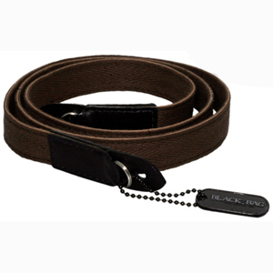 Black Label Bag Cloth Racing Strap -- Dark Brown