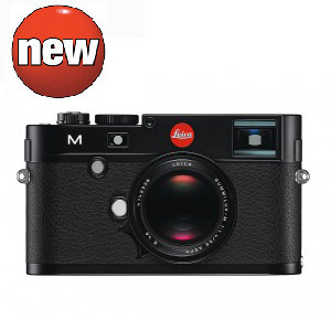 Leica M Digital Camera -- Black Paint, Silver Chrome (PREORDER DEPOSIT)