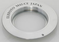 Shimada-san/Elephoto Adapter M42 Lens to Canon EOS Body