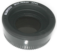 Shimada-san/Elephoto Adapter M42 Lens to Nikon Body
