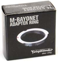 Voigtlander LTM to M Adapter for 28/90mm Lenses