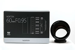 NEW! Voigtlander NOKTON 60mm F0.95 Micro Four Thirds