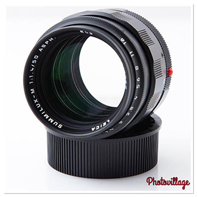 Leica 50mm f1.4 Summilux ASPH black paint, rare limited edition, 6 bit