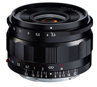 Voigtlander 21mm f3.5 Color Skopar ASPHERICAL for Sony E