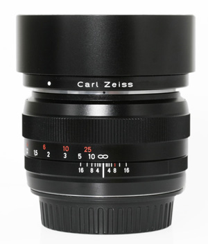 Zeiss ZE 50mm f/1.4 Planar T* Manual Focus Lens for Canon EOS Cameras -- USED